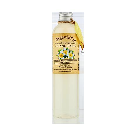 Купить Натуральный гель для душа «франжипани» organic tai