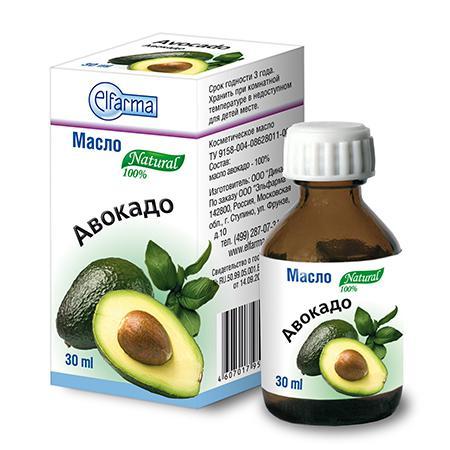 Купить Масло авокадо (для тела, рук и волос) эльфарма