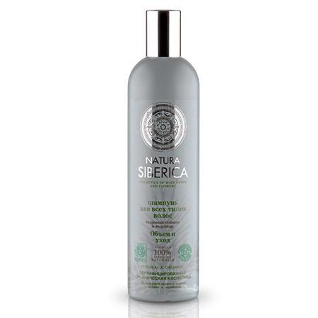Купить Шампунь для всех типов волос «объем и уход» natura siberica