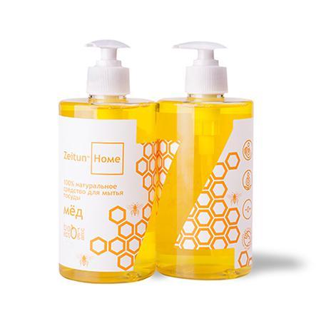 Купить Натуральное средство для мытья посуды мёд зейтун