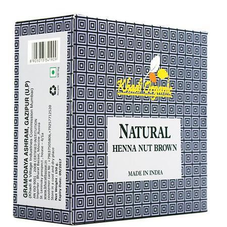 Купить Органическая хна ореховый organic khadi