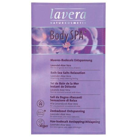 Купить Морская соль для принятия ванн «лавандовые секреты» lavera