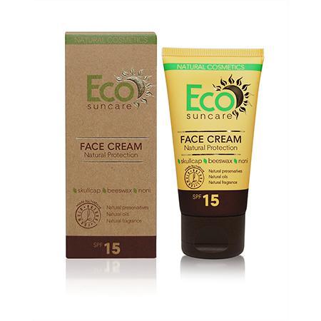 Купить Натуральный солнцезащитный крем для лица spf 15 eco suncare