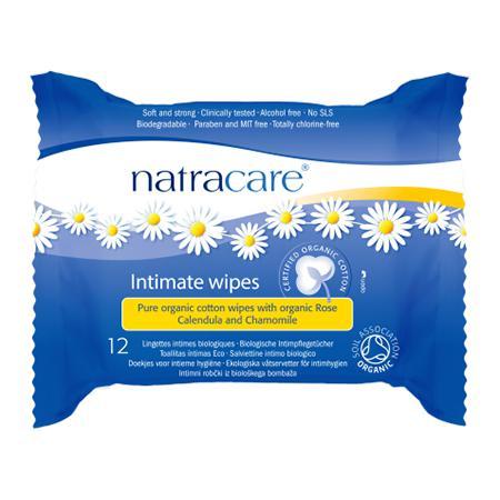 Купить Влажные салфетки для интимной гигиены natracare