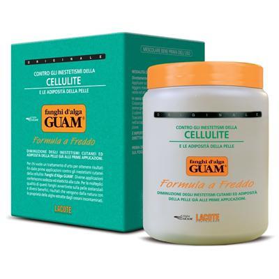 Купить Маска антицеллюлитная с охлаждающим эффектом fanghi d'alga 1000 гр guam