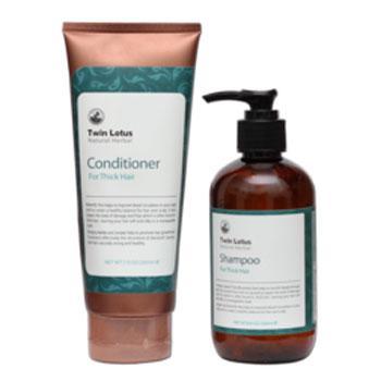 Купить Набор: шампунь и кондиционер для жирных волос twin lotus