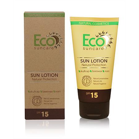 Купить Натуральное солнцезащитное молочко spf 15 eco suncare