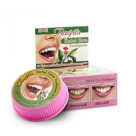 Купить Отбеливающая зубная паста rasyan herbal