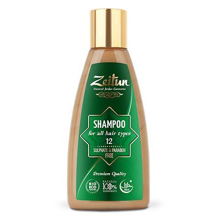 Купить Натуральный шампунь для всех типов волос зейтун №12