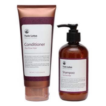 Купить Набор: шампунь и кондиционер для нормальных волос twin lotus