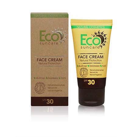 Купить Натуральный солнцезащитный крем для лица spf 30 eco suncare