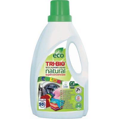 Купить Натуральная эко-жидкость для стирки цветного белья 1,42л tri - bio
