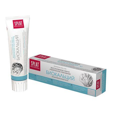 Купить Зубная паста биокальций splat