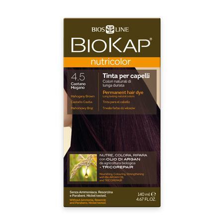 Купить Стойкая натуральная крем-краска для волос biokap nutricolor (цвет махагон) biosline