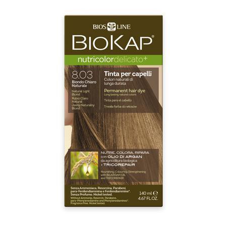 Купить Стойкая крем-краска для чувствительных волос biokap nutricolor delicato (цвет натуральный блондин) biosline