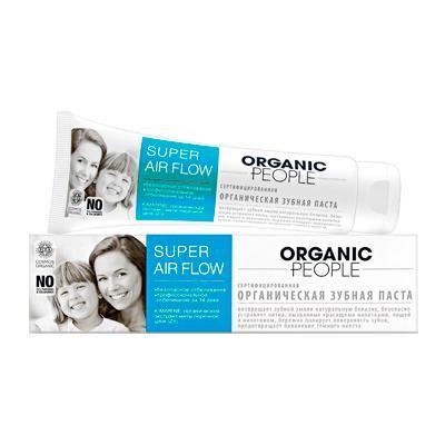 Купить Зубная паста  super air flow organic people