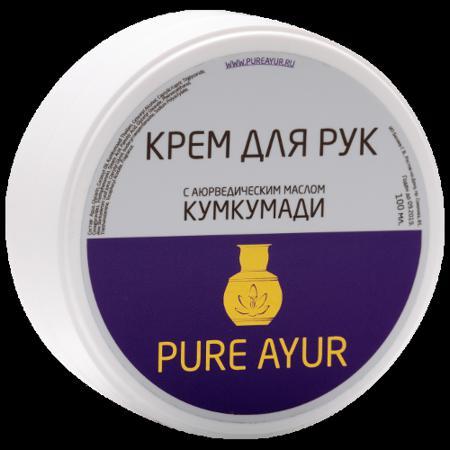 Купить Универсальный аюрведический крем для рук с маслом кумкумади