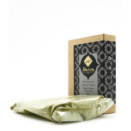Купить Йеменская бесцветная хна для волос со смесью специй adarisa
