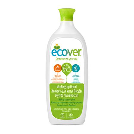 Купить Экологическая жидкость (для мытья посуды) с лимоном и алоэ-вера ecover (1000 мл)