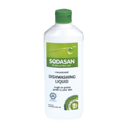 Купить Средство для мытья посуды sodasan (500 мл)