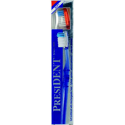 Купить Зубная щетка president silver soft мягкая