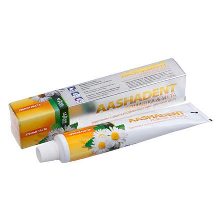 Купить Зубная паста ромашка-мята  aasha herbals