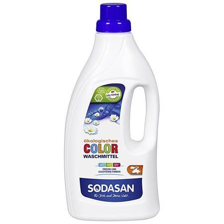 Купить Жидкое средство для стирки цветных вещей sodasan