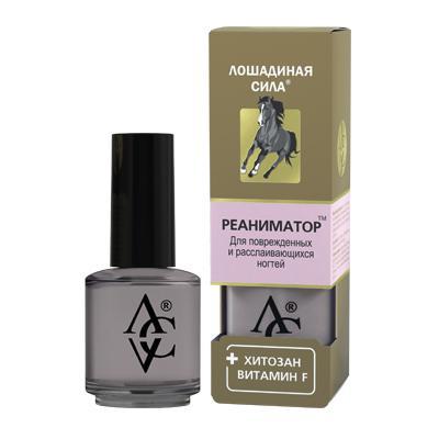 Купить Реаниматор для поврежденных и расслаивающихся ногтей с хитозаном и витамином f «лошадиная сила» хорс форс