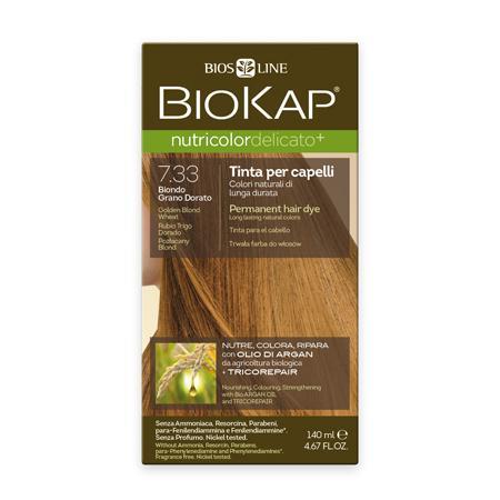 Купить Стойкая крем-краска для чувствительных волос biokap nutricolor delicato (цвет золотисто-пшеничный блондин) biosline