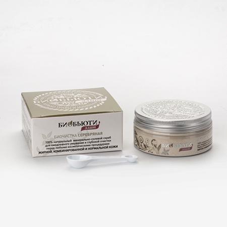 Купить Биочистка серебряная для жирной, комбинированной и нормальной кожи биобьюти