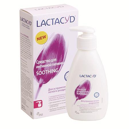 Купить Лактацид средство для интимной гигиены soothing