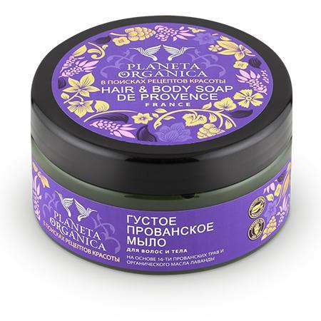 Купить Мыло для волос и тела прованское planeta organica