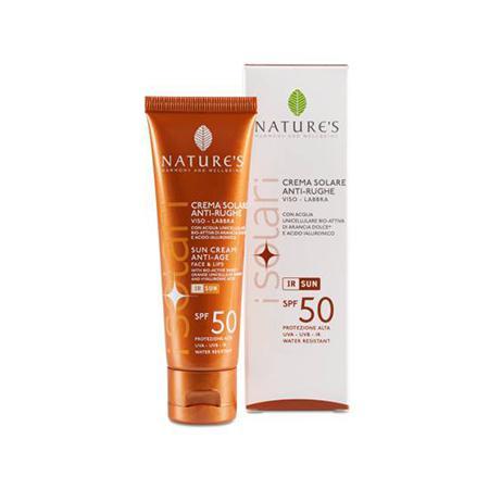 Купить Крем от солнца для лица и губ spf-50 nature's