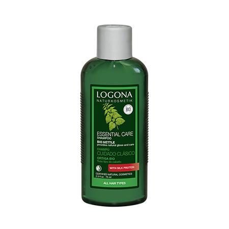 Купить Шампунь для базового ухода за волосами с экстрактом крапивы 75 мл logona