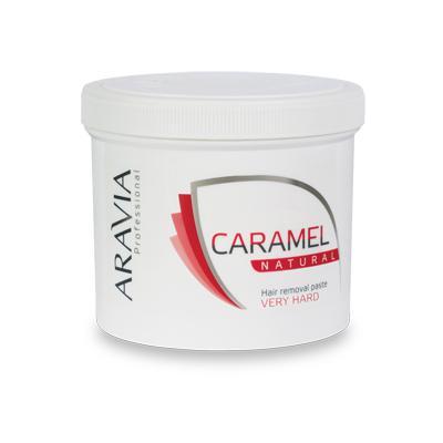 Купить Карамель для депиляции натуральная очень плотной консистенции aravia professional