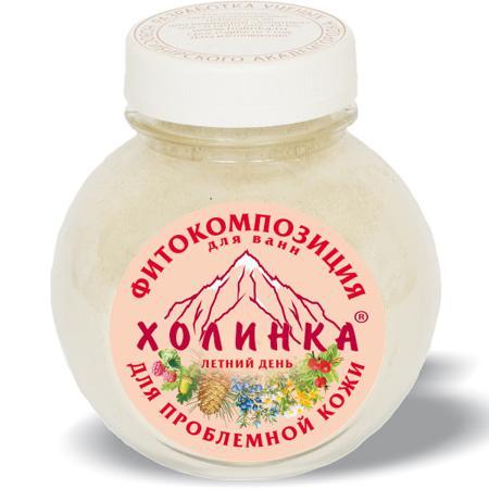 Купить Фитокомпозиция «летний день» для проблемной кожи холинка, 400 гр