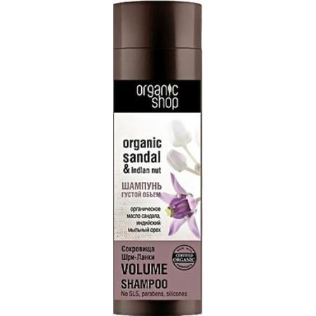 Купить Шампунь для волос «сокровища шри-ланки» organic shop