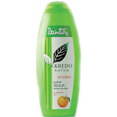 Купить Kredo natur aroma гель для душа с апельсиновым маслом для любого типа кожи dzintars