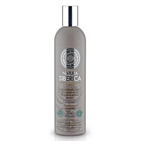 Купить Шампунь для уставших и ослабленных волос «защита и энергия» natura siberica