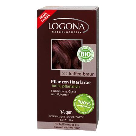 Купить Растительная краска для волос 092 «кофейно-коричневый» logona