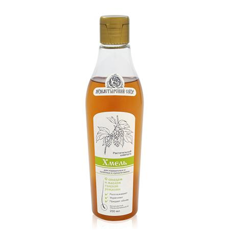 Купить Натуральный шампунь «хмель» для нормальных и склонных к сухости волос клеона