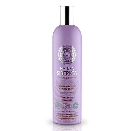 Купить Шампунь для сухих волос «защита и питание» natura siberica