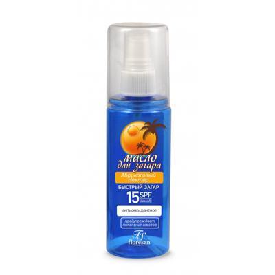 Купить Масло для загара абрикосовый нектар c антиоксидантным действием floresan