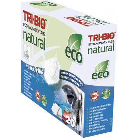 Купить Натуральные эко таблетки для стирки tri-bio