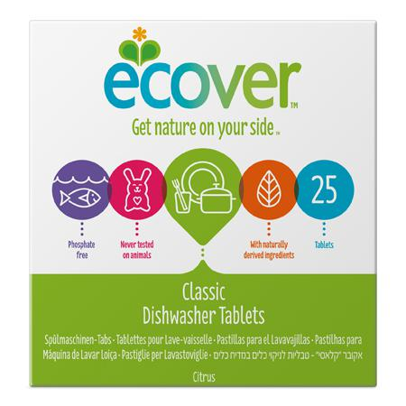 Купить Экологические таблетки (для посудомоечной машины) ecover (500 гр)