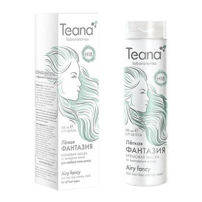 Купить Кремовая маска от потери волос с ламинарией и пельвецией teana