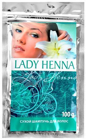 Купить Сухой шампунь для волос lady henna aasha
