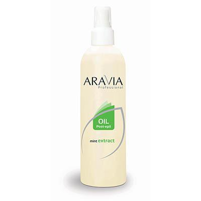 Купить Масло после депиляции (охлаждающее) с экстрактом мяты aravia professional