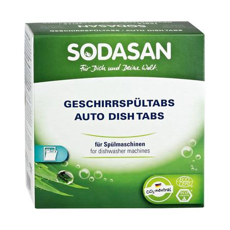 Купить Таблетки для посудомоечных машин sodasan (1375 гр)