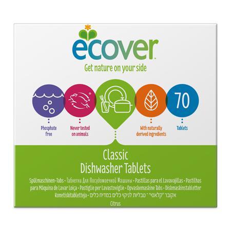Купить Экологические таблетки (для посудомоечной машины) ecover (1400 гр)
